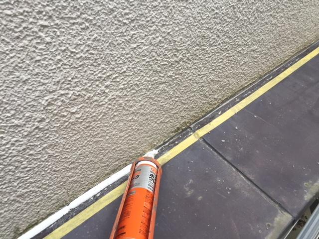 雨漏り対策:シーリング充填
